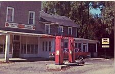 LIVINGSTON'S GENERAL STORE, MILL RUN, PA. 1960 Rambler parked near gas pumps