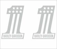 2 x Harley Davidson 1 Aufkleber 120 mm x 84 mm -viele Farben