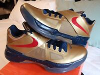 Nike KD 4 Olympic Gold Medal sz 8.5 5 6 7 8 9 WTKD USA Brazil Elite Galaxy
