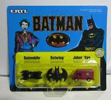 1989 Ertl BATMAN Batmobile Batwing & Joker Van MOC FACORY SEALED CASE OF 24