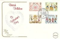 6 FEBRUARY 1981 FOLKLORE COTSWOLD FIRST DAY COVER FOLK FESTIVAL LONDON SW1 SHS