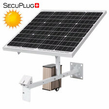 4G Solar Power Panel System 30W 15AH 60W 40AH for DC12V IP CCTV Security Camera
