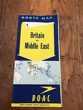 More details for b.o.a.c. route map number 1 - britain to middle east .1949