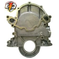 EngineQuest Engine Timing Cover TC351A; Satin Aluminum for 1966-84 Ford 302 SBF