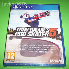 TONY HAWK'S PRO SKATER 5 - NUEVO Y PRECINTADO PAL ESPAÑA PLAYSTATION 4 PS4