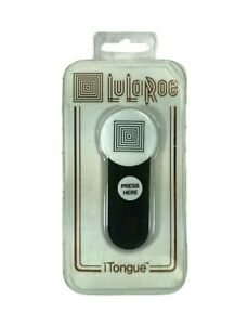 NEW iTongue Luluroe Car Mount Holder / Smart Phone Stand White Top- Black Tongue