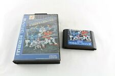 Sega Megadrive Probotector Video Game No Manual