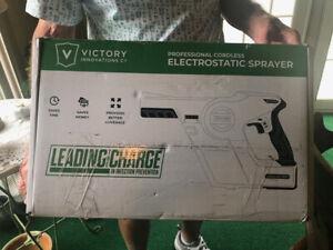 Victory Innovations VP200ESK Cordless Electrostatic Handheld Sprayer in BOX