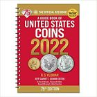 2022 RED BOOK GUIDE OF UNITED STATES COINS SPIRAL 75TH EDITION NEW FREE SHIP!