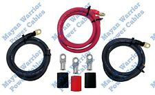 BIG 3 Heavy Duty High Output cable pre wire kit upgrade 1/0 AWG GAUGE Alternator