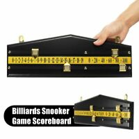 MDF Billiards Scoreboard Snooker Game Player Calculation Number Scorer Board