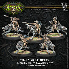 Hordes: Circle Orboros Tharn Wolf Riders Circle Light Cavalry Unit PIP 72086