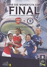 * 2016 WOMENS FA CUP FINAL - CHELSEA v ARSENAL - MINT PROGRAMME *