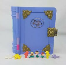 Polly Pocket Sparkling Mermaid Adventure 100% Complete 1995 Excellent condition