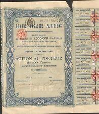 GRANDS MAGASINS PARISIENS (A)