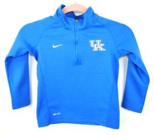 Boy's Nike Dri Fit Jacket Pullover University of Kentucky Wildcats Size 5