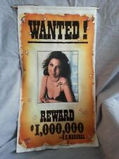 *UNIQUE* SHANIA TWAIN WANTED POSTER