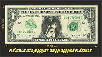 MOTORHEAD ACE OF SPADES IMAN BILLETE 1 DOLLAR BILL MAGNET