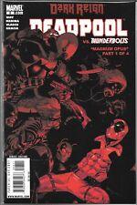DEADPOOL #8 (NM) DARK REIGN, VS. THE THUNDERBOLTS
