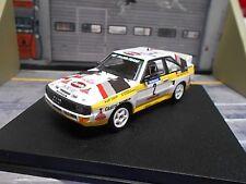 AUDI Quattro Sport Rallye Tour de Corse 1984 #2 Röhrl Trofeu + Decals H B 1:43