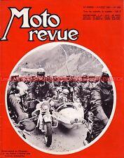 MOTO REVUE 1800 Mike HAILWOOD Giacomo AGOSTINI , Grand Prix ; Les CHAMOIS 1966