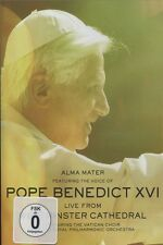 MUSIC FROM THE VATICAN - ALMA MATER FEAT THE VOICE OF POPE BENEDICT XV  DVD NEU
