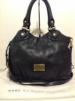 Authentic Marc by Marc Jacobs Fran Q Bag. Black Leather. Ex Cond. Dust Bag