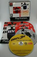 Driver & Driver 2 2 Games Compilation Game for Sony PlayStation PS1 PAL TESTED