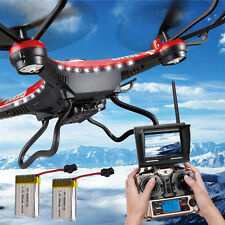 H8D JJRC RC Quadcopter Drones 6-Axis 4CH Gyro FPV with HD Camera Spare Battery