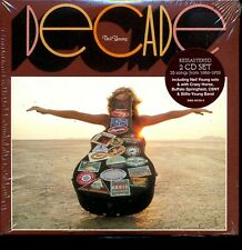 Neil Young Decade 2-disc CD NEW Remastered Greatest Hits