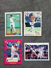 Lot of (4) Baseball Cards  Ken Griffey Jr(2) Juan Gonzalez Dean Palmer
