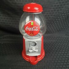 Coca Cola Vintage glass and metal Gumball Machine Coin Bank AJP0566 S4-3