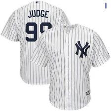 Men's Medium Yankees #99 Aaron Judge Cool Base Jersey Home