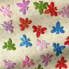 400 Mix Iridescent Shiny Cute Honey Bee Trim Bow Card Making Craft Scrapbooking
