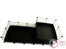 TWO TIER GUINEA PIG C&C CAGE 5x2 + LOFT 2x2 - 2 CORREX TRAYS INCLUDED