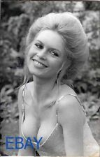 Brigitte Bardot busty sexy VINTAGE Photo