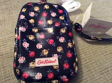 New Cath Kidston Universal Gadget Pouch Case Lucky Rose Oilskin - Phone Camera