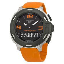 Tissot T-Race Analog Digital Orange Rubber Mens Watch T0814201705702