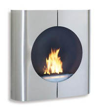 Blomus Kamin Ventless BioEthanol Stainless Steel Fireplace (Rare Find)