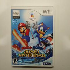 Mario & Sonic Olympic Winter Games (Nintendo Wii) CASE ONLY