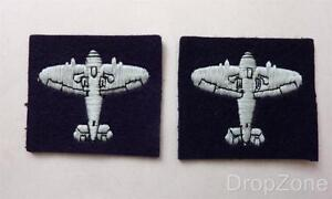 NEW Pair of RAF Royal Air Force Observers Cloth Badges / Patches