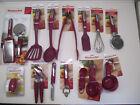 KitchenAid sangria/pink purple kitchen utensils HSGA/HSGB
