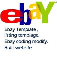 eBay Template   Listing Template   Design Template   Install Fee $25