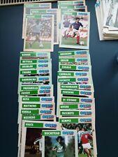 "Carte Football Onze Mondial "" Rocheteau, Tigana, Di Stefano, Platini, Giresse,."""