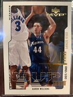 2000-01 Upper Deck MVP Gold Script Aaron Williams 92/100