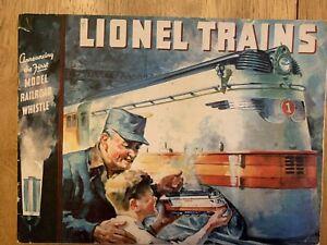 1935 LionelTrains Catalog - ORIGINAL