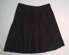 e3a532502c33cc jupe plissée noire en vente   eBay
