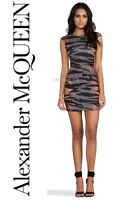 Alexander McQueen Bodycon Dress (S) UK8-10 US4-6 IT40-42 Tiger Print *BNWT*