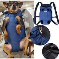 Pet Puppy Dog Cat Carrier Bag Front/Back Backpack Bag Soft Carry Sling Bag S-XL