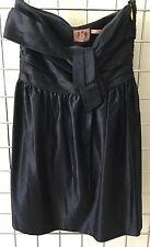 Juicy Couture Navy Silk Dress Bustier Fête Club Short